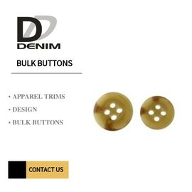 Pola Resin Trench Coat Buttons, Jahit Pada Tombol Snap 4/2 Lubang